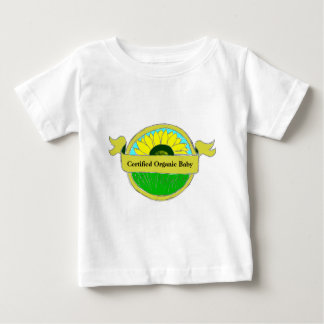 """Certified Organic Baby"" Seal on Shirts"
