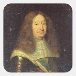 Cesar de Bourbon  Duke of Vendome and Beaufort Square Sticker