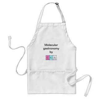 Cesar periodic table name apron