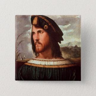 Cesare Borgia  Duke of Valencia 15 Cm Square Badge