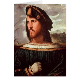 Cesare Borgia  Duke of Valencia Card