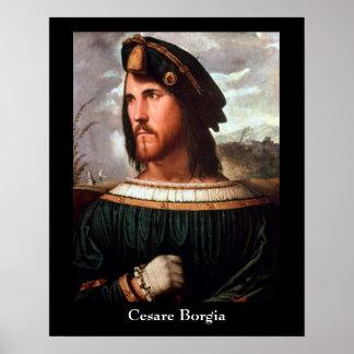 Cesare Borgia Poster
