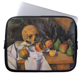 Cezanne - Nature with Skull Laptop Sleeve