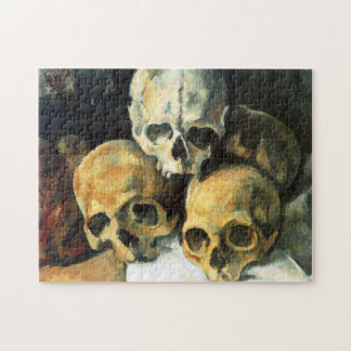 Cezanne Pyramid of Skulls Puzzle