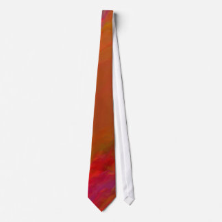 CGI abstract tie - Orange/Red