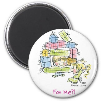 CH-002 Christmas Gifts Magnet