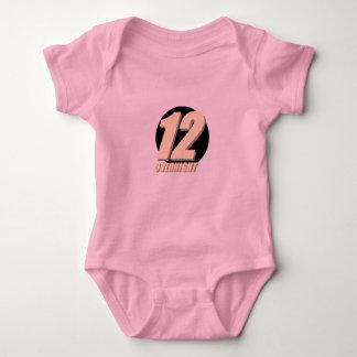 Ch 12 baby girl baby bodysuit