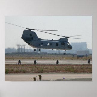 CH-46E Sea Knight Poster