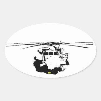CH-53E OVAL STICKER