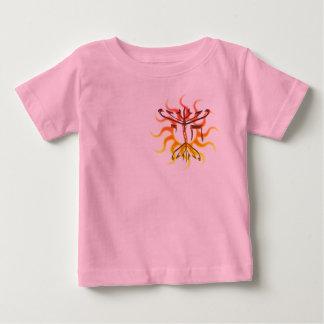 Chai Menorah Sun 2-Sided Infant T-Shirt