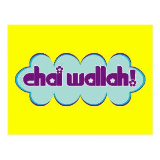 Chai Wallah Postcard