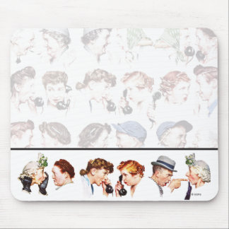 Chain of Gossip Mouse Pad