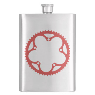 Chain Ring Hip Flask