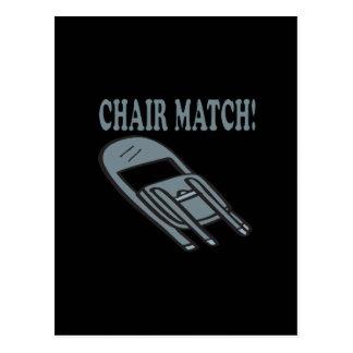 Chair Match Postcard