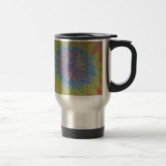 Chakra Flower Blast Travel Mug