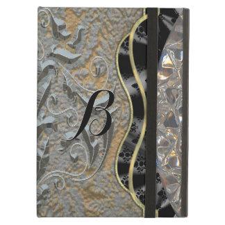 Chalchadora Monogram Elegant Baroque iPad Air Case