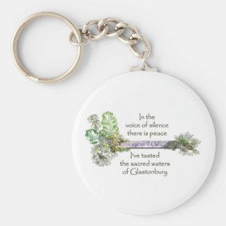 Chalice Well Garden Key Ring