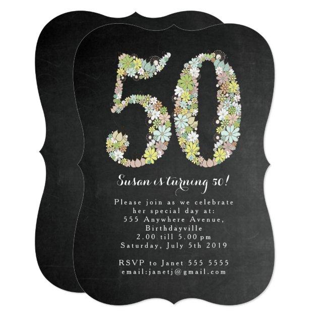 50Th Invite as luxury invitations template