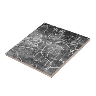 Chalkboard Graffiti 001 Ceramic Tiles