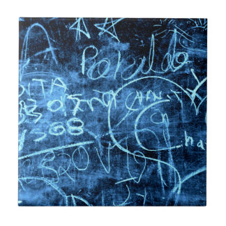 Chalkboard Graffiti 003 Ceramic Tiles