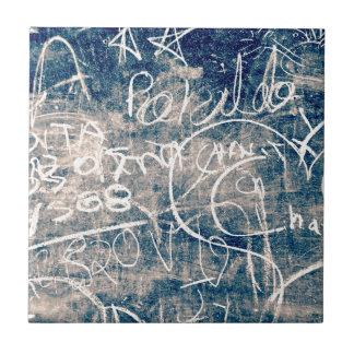 Chalkboard Graffiti 004 Ceramic Tiles