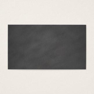 Chalkboard Grey Background Grey Chalk Board Black Business Card