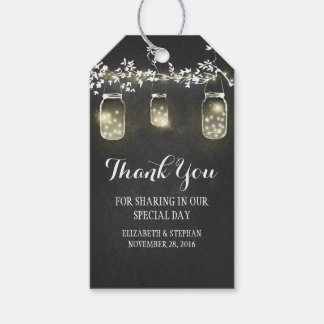 Chalkboard String Lights Mason Jars Rustic Wedding