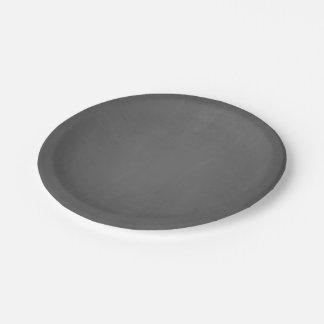 Chalkboard Template Blank 7 Inch Paper Plate