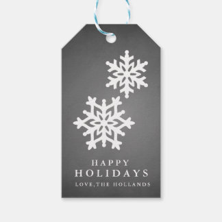 Chalkeboard Happy Holidays Gift Tags | CHRISTMAS