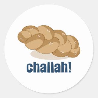 Challah! Classic Round Sticker