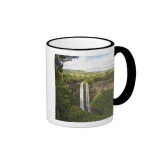 Chamarel Waterfall-highest on Mauritius, over 2 Ringer Mug