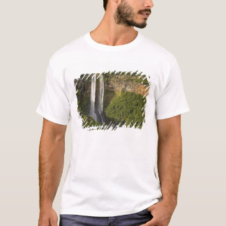 Chamarel Waterfall-highest on Mauritius, over T-Shirt