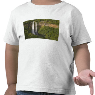 Chamarel Waterfall-highest on Mauritius, over Tee Shirts