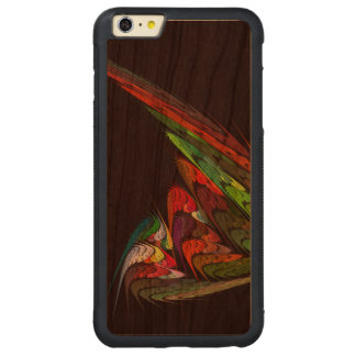 Chameleon Abstract Art Carved Cherry iPhone 6 Plus Bumper Case