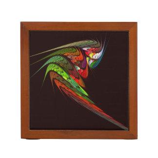 Chameleon Abstract Art Desk Organiser