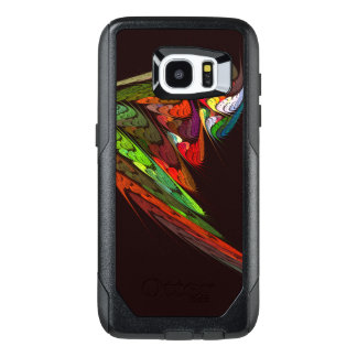 Chameleon Abstract Art OtterBox Samsung Galaxy S7 Edge Case