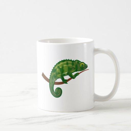 Chameleon chameleon coffee mugs