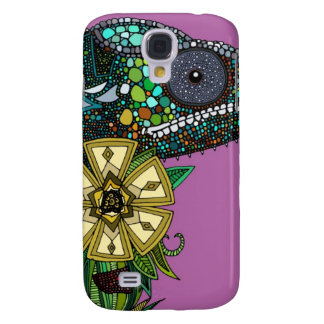 chameleon orchid galaxy s4 case