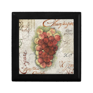 Champagne & Cognac Grapes Gift Box