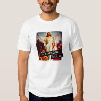 Champagne Jesus T-shirts