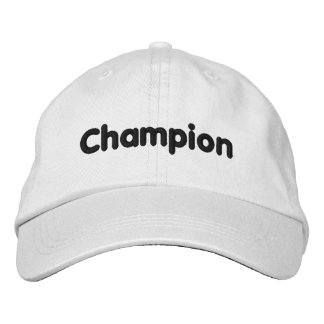 Champion- Hat Embroidered Baseball Caps