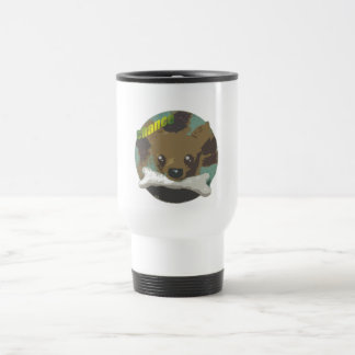 chance dog stainless steel travel mug