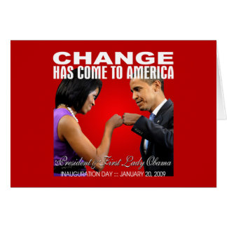 Change - Fist Bump (red) Card