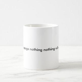 change for the better basic white mug