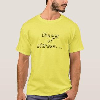 (change of address)Beach Bum Blvd T-Shirt