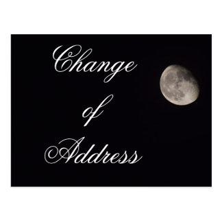 Change of Address - postcard