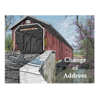 Change of address - postcards