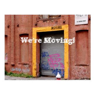 Change of Address Postcards - We're Moving!