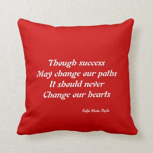 Change of heart pillows
