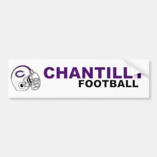 Chantilly Football Bumper Sticker